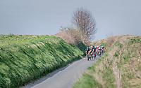 chase group led by Ian Stannard (GBR/SKY)<br /> <br /> 60th E3 Harelbeke (1.UWT)<br /> 1day race: Harelbeke › Harelbeke - BEL (206km)