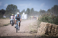 Guillaume Boivin (CAN/Israel Cycling Academy),<br />  trying to escape<br /> <br /> Antwerp Port Epic 2019 <br /> One Day Race: Antwerp > Antwerp 187km<br /> <br /> ©kramon