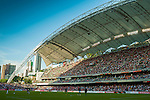 Wide view of the Hong Kong Stadium during the Arsenal FC pre-season Asian Tour friendly match against Kitchee in Hong Kong on July 29, 2012. Photo by Victor Fraile / The Power of Sport Images