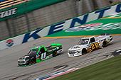 #11: Spencer Davis, Spencer Davis Motorsports, Toyota Tundra #20: Spencer Boyd, Young's Motorsports, Chevrolet Silverado Crown Equipment Inc