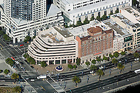 aerial photograph of The Embarcadero at Howard Streeet, San Francisco, California