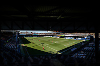 17th April 2021; Kenilworth Road, Luton, Bedfordshire, England; English Football League Championship Football, Luton Town versus Watford; A general view of the match from the new stand.  Strictly Editorial Use Only. No use with unauthorized audio, video, data, fixture lists, club/league logos or 'live' services. Online in-match use limited to 120 images, no video emulation. No use in betting, games or single club/league/player publications