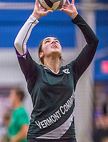 16 October 2015: The Vermont Commons School Flying Turtles host the Enosburg Falls Hornets at the Fitness Edge Gymnasium in South Burlington, Vermont. The matches were the last home games of the VCS teams  for the 2015 season. Mandatory Credit: Ed Wolfstein Photo *** RAW (NEF) Image File Available ***