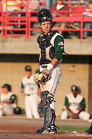 Southwest Michigan Devil Rays Christian Lopez during a Midwest League game at C.O. Brown Stadium on July 14, 2006 in Battle Creek, Michigan.  (Mike Janes/Four Seam Images)