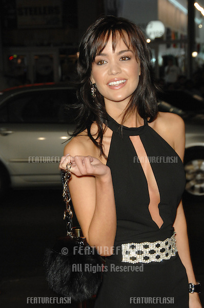 """APRIL SCOTT at the US premiere of """"The Fountain"""" at Grauman's Chinese Theatre, Hollywood..November 11, 2006  Los Angeles, CA.Picture: Paul Smith / Featureflash"""