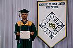 Brock, Jamal  received their diploma at Bryan Station High school on  Thursday June 4, 2020  in Lexington, Ky. Photo by Mark Mahan Mahan Multimedia