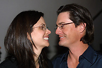 Miami Beach, FL 3-9-2002<br /> Kyle MacLachlan wife Desiree Gruber as they arrive for Ocean Drive Magazine's <br /> March cover girl Heidi Klum's party at Crobar.<br /> Photo by Adam Scull/PHOTOlink
