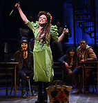 "Amber Gray during the Broadway Press Performance Preview of ""Hadestown""  at the Walter Kerr Theatre on March 18, 2019 in New York City."