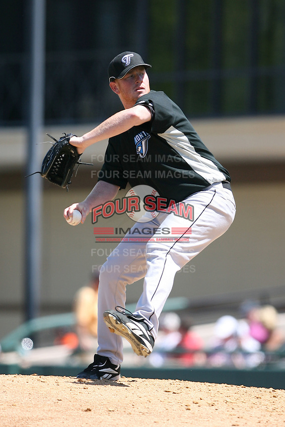 March 21st 2008:  Jesse Litsch of the Toronto Blue Jays during Spring Training at Joker Marchant Stadium in Lakeland, FL.  Photo by:  Mike Janes/Four Seam Images