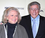 Barbara Cook and Tony Bennett  attending the Premiere Screening of HBO's 'Six By Sondheim' at The Museum Of Modern Art in New York City on November 18, 2013.