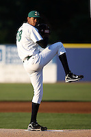 August 16 2008:  Starting pitcher Henry Reyes (38) of the Beloit Snappers, Class-A affiliate of the Minnesota Twins, during a game at Pohlman Field in Beloit, WI.  Photo by:  Mike Janes/Four Seam Images