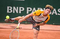 4th July 2021; Roland Garros, Paris France; French Open tennis championships day 6;  Alejandro Davidovich ( Esp)
