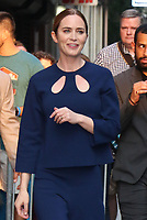 NEW YORK, NY- July 15: Emily Blunt at The Late Show With Stephen Colbert promoting her new Disney movie Jungle Cruise in New York City on July 15, 2021 <br /> CAP/MPI/RW<br /> ©RW/MPI/Capital Pictures