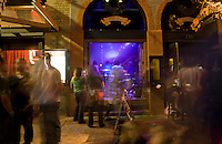 Bands can be found playing in every club on 6th Street during the SXSW Music Festival