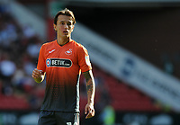 Swansea City's Bersant Celina during the Sky Bet Championship match between Sheffield United and Swansea City at Bramall Lane, Sheffield, England, UK. Saturday 04 August 2018
