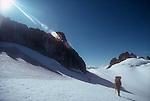 Climbing team, North Cascades National Park, National Outdoor Leadership School climbers, Cascade Mountains, Washington State, Pacific Northwest, U.S.A.,