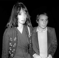 Shelley Duvall Paul Simon 1980s<br /> Photo By John Barrett/PHOTOlink