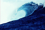 Teahupoo is known as the end of the road in Tahiti. It is one of the world's gnarliest lefts. This waves breaks over a razor sharp coral reef. The wave comes from thousands of miles of open ocean only to hit the reef and barrel before closing out on dry exposed reef.