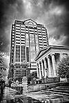 Courthouse Building & Fifth Third on Main St., Dayton Ohio