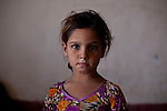 ABU AL-NRSI, IRAQ: Hania's father was killed in Fallujah during the sectarian violence. ..Dozens of families displaced by years of violence have been forced to return to the district of Chebaish...Photo by Ali Arkady/Metrography