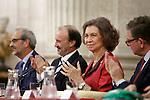 Queen Sofia of Spain during 'XXIV Reina Sofia Iberoamerican Poetry Award'. November 18, 2015. (ALTERPHOTOS/Acero)