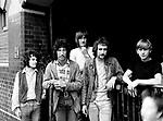 Fleetwood Mac 1968 Jeremy Spencer, Peter Green, Mick Fleetwood, John McVie and Danny Kirwan<br /> © Chris Walter