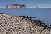 Skagafjörður, Skagafjördur, Fjord, Drangey, isländische Insel in der Mitte des Fjordes Skagafjörður, Vogelinseln, Vogelfelsen, Reykir - Grettislaug, Nord Island, Drang Isle, Skagafjörður fjord in northern Iceland