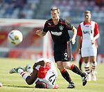 Jon Daly dumps Luis Pedro on his backside