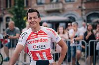 Tom Meeusen (BEL/Corendon-Circus)<br /> <br /> 3rd Dwars Door Het hageland 2018 (BEL)<br /> 1 day race:  Aarschot > Diest: 198km