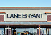 Lane Bryant retail clothing store, Mount Laural, New Jersey, USA