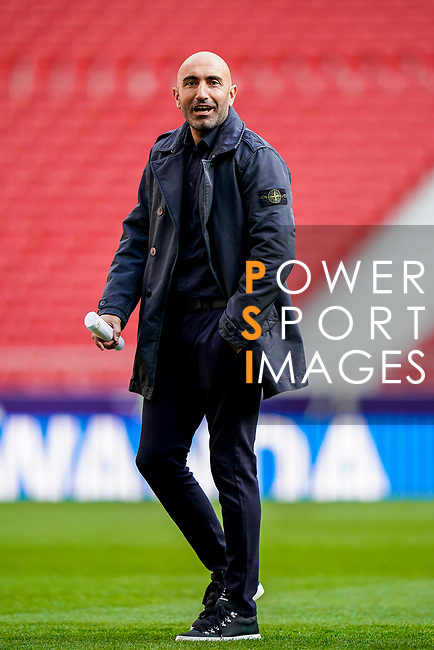 Coach Abelardo Fernandez of Deportivo Alaves is seen prior to the La Liga 2018-19 match between Atletico de Madrid and Deportivo Alaves at Wanda Metropolitano on December 08 2018 in Madrid, Spain. Photo by Diego Souto / Power Sport Images