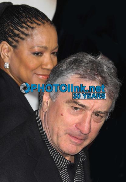 Robert De Niro and wife Grace Hightower  11-11-2008, Photo By John Barrett/PHOTOlink