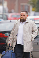 "Pictured: David Alford arrives at Swansea Crown Court. Monday 15 April 2019<br /> Re: Four ""Money-motivated"" cold callers who pressurised elderly people into buying boilers that never arrived - and mocked them as they waited on the line, are due to be sentenced today at Swansea Crown Court, Wales, UK.<br /> The company's three directors and a compliance manager are awaiting sentence for conspiracy to defraud.<br /> Kyle Lewis, Darren Palmer and David Alford, along with Jason Cunliff, dubbed the Wolves of Wind Street, were all found guilty of conspiracy to defraud after a trial at Swansea Crown Court, which followed a four-year investigation."