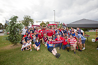 NASHVILLE, TN - SEPTEMBER 5: Sammers Supporters Club before a game between Canada and USMNT at Nissan Stadium on September 5, 2021 in Nashville, Tennessee.