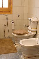 Libya - Arab Toilet, with Hose to wash