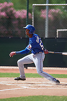Texas Rangers Pedro Ogando (52) during an instructional league game against the Seattle Mariners on October 5, 2015 at the Surprise Stadium Training Complex in Surprise, Arizona.  (Mike Janes/Four Seam Images)