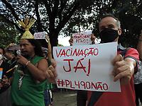 30/06/2021 - PROTESTO CONTRA A PL490 EM RECIFE