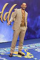 """Will Smith<br /> arriving for the """"Aladdin"""" premiere at the Odeon Luxe, Leicester Square, London<br /> <br /> ©Ash Knotek  D3500  09/05/2019"""