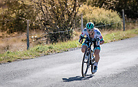 Felix Grosschartner (AUT/BORA-hansgrohe)  descending the Col du Béal in the tuck position<br /> <br /> Stage 14 from Clermont-Ferrand to Lyon (194km)<br /> <br /> 107th Tour de France 2020 (2.UWT)<br /> (the 'postponed edition' held in september)<br /> <br /> ©kramon