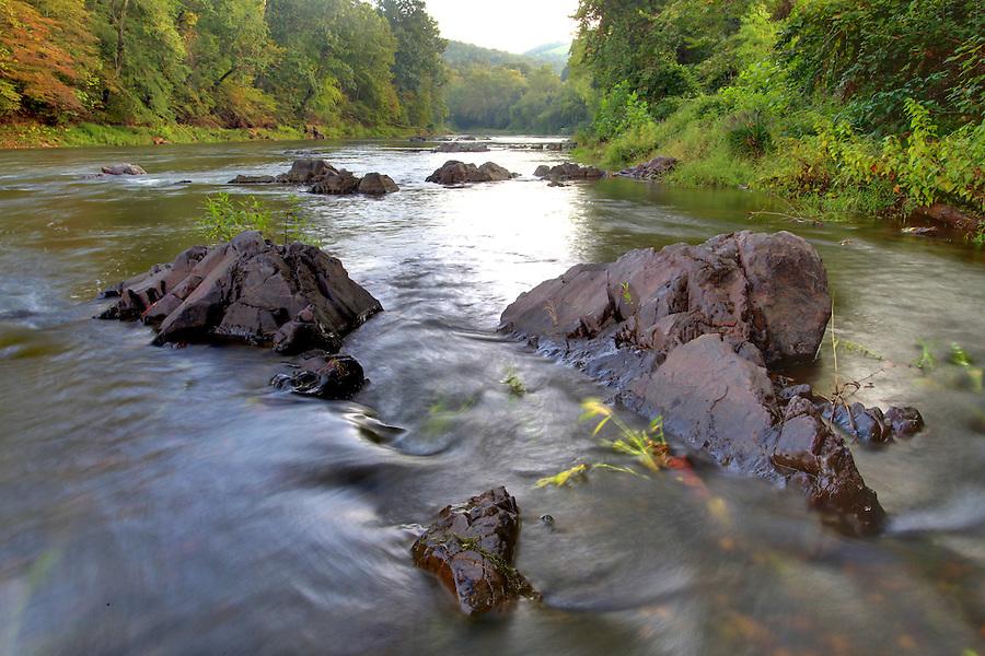 Rivanna River in Albemarle County, VA. Photo/Andrew Shurtleff