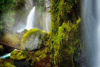 Wahclella Falls, also called Tanner Creek Falls. Columbia River Gorge National Scenic Area, Oregon