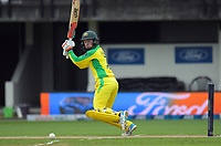 Australia's Rachael Haynes bats during the 2nd international women's T20 cricket match between the New Zealand White Ferns and Australia at McLean Park in Napier, New Zealand on Tuesday, 30 March 2021. Photo: Dave Lintott / lintottphoto.co.nz