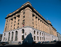 Edifice des Douanes<br /> <br /> Montreal (Qc) CANADA - May 1999 file photo -<br /> Canadian Customs building on McGill Street<br /> <br /> <br /> PHOTO : Agence Quebec Presse