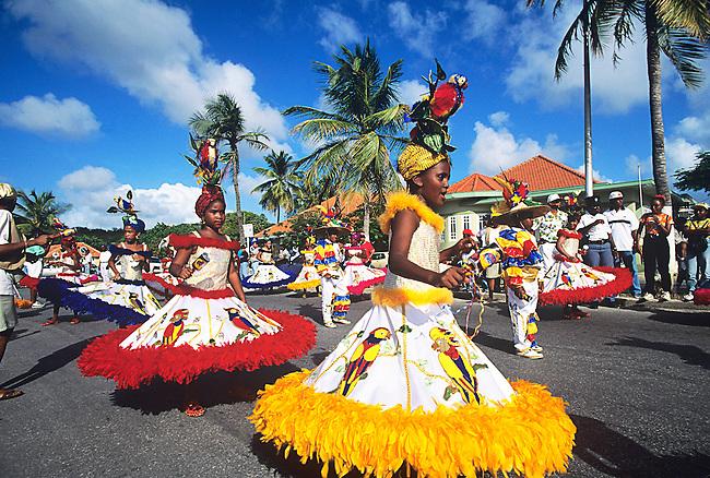 Children's Parade, Mardi Gras, Curacao, Caribbean