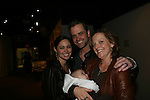 Guiding Light's Jessica Leccia - husband Brian  - daughter Ivy & Orlagh Cassidy at the 2009 Daytime Stars and Strikes to benefit the American Cancer Society on October 11, 2009 at the Port Authority Leisure Lanes, New York City, New York. (Photo by Sue Coflin/Max Photos)