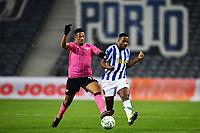 3rd January 2021; Dragao Stadium, Porto, Portugal; Portuguese Championship 2020/2021, FC Porto versus Moreirense; Wilson Manafá of FC Porto and Walterson of Moreirense