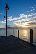 Wellington State Park - Newfound Lake in Bristol, New Hampshire USA