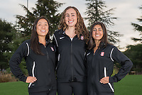 Stanford, Ca - October 4, 2016: The 2016-2017 Stanford Synchronized Swimming Team. Freshman Class