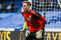 Barnsley's goalkeeper Jack Walton (30) makes the bench for the first time during the Sky Bet Championship match between Sheff Wednesday and Barnsley at Hillsborough, Sheffield, England on 28 October 2017. Photo by Stephen Buckley / PRiME Media Images.