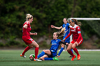 Seattle, WA - Saturday May 13, 2017: Beverly Yanez during a regular season National Women's Soccer League (NWSL) match between the Seattle Reign FC and the Washington Spirit at Memorial Stadium.